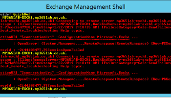 Exchange 2016 – Blank page after logging into EAC – Mike Parker on 365