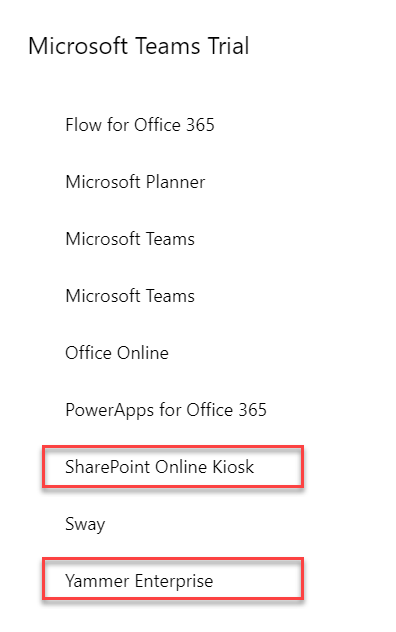 Did you know your users can sign themselves up for Microsoft